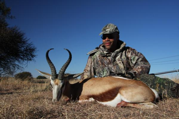 Springbuck Hunt in South Africa